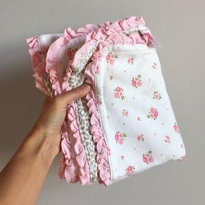 Carters Baby Ruffle Blanket